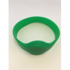 Green Wristband Compatible 1k 13.56mhz NFC