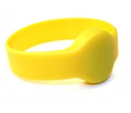 Yellow 125Khz Wristband