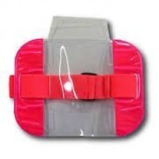 Pink High Visibility Armband