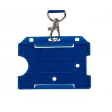 Blue Horizontal Card Holder (Single)