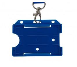 Blue Horizontal Card Holder (Single)