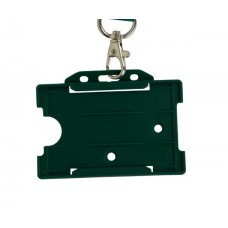 Green Horizontal Card Holder (Single)