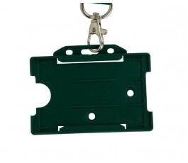 Green Horizontal Card Holder (Single)
