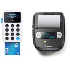 IZettle Contactless Chip & Pin Card Reader & Compatible Receipt Printer Bundle