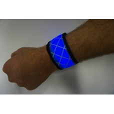 Blue LED Snap Band