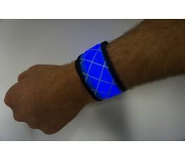 Blue LED Snap Band