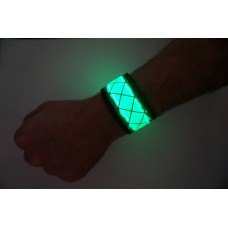 Green LED Snap Band