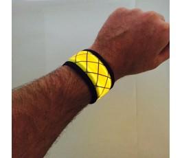 Yellow LED Snap Band