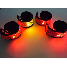 Orange LED Snap Band