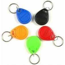 Red Keyfob Compatible 1k 13.56mhz NFC
