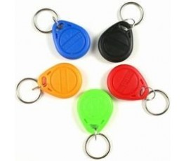 Green Keyfob Compatible 1k 13.56mhz NFC