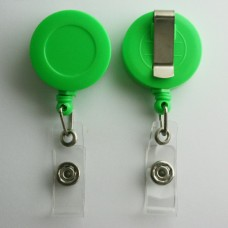 100 x Solid Green Belt Clips