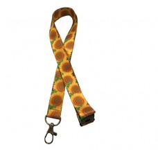 Sunflower Lanyard with Safety breakaway