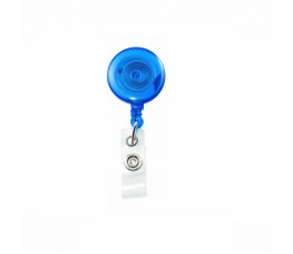 4 x Blue Translucent Belt Clip