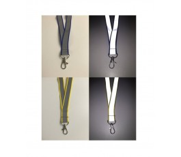 Reflective Lanyard With Safety Breakaway
