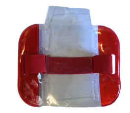 Red High Visibility Armband