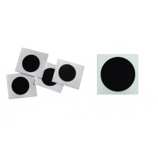 15  x NTAG® 215 BLACK 25MM STICKERS