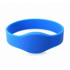 Blue Compatible 1k 13.56mhz NFC Wristband