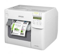 Epson ColorWorks C3500 Inkjet Label Printer - USB, Ethernet, Cutter, NiceLabel Software