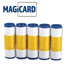 MAGICARD ENDURO & ENDURO DOUBLE SIDED REPLACEMENT STICKY CLEANING ROLLERS - 5 PACK