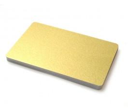 50 x Gold pvc card