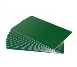 50 x Green PVC card