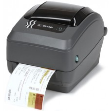Zebra GX430t - 300 dpi Thermal Transfer Desktop Label Printer - Serial, Parallel & USB, Peel