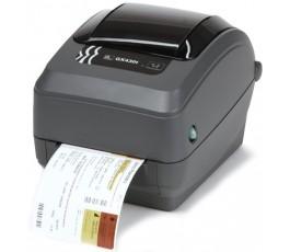 Zebra GX430t - 300 dpi Thermal Transfer Desktop Label Printer - Serial, Parallel & USB, Peel