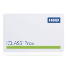 iCLASS Prox Contactless Smart Card, 16k bit with 2 application areas