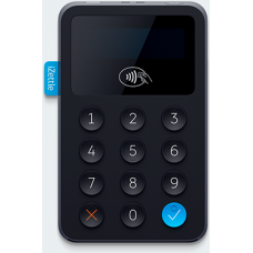 Black IZettle Contactless Chip & Pin Card Reader