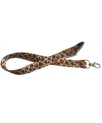 Animal Print Lanyards with safety Breakaway - Choose your Animal