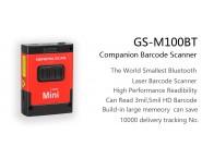 General Scan GS M100BT-HP40QI 1D Laser Mini Barcode Scanner