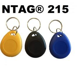 10 X NTAG® 215 KEYFOBS