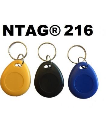 10 X NTAG® 216 KEYFOBS