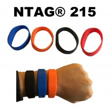 NTAG®215 SILICONE WRISTBAND ADULT