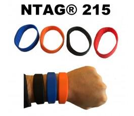 NTAG®215 SILICONE WRISTBAND ADULT