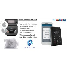 PayPal Here & Woosim r241 Receipt Printer