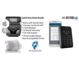 PayPal Here & Woosim r241 Receipt Printer