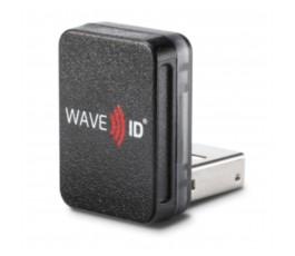 RDR-6011AKU-V2 pcProx Enroll HID Prox Black Vertical USB Nano Reader