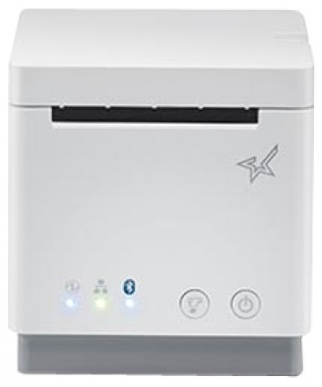 "MCP20 WT US , mC-Print2, Thermal, 2"", Cutter, Ethernet (LAN), USB, CloudPRNT, White, Ext PS Included. Part Number 39652010"