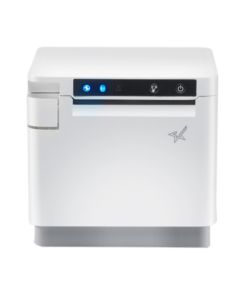 "MCP31L WT US , mC-Print3, Thermal, 3"", Cutter, Ethernet (LAN), USB, Lightning, CloudPRNT, Peripheral Hub, White, Ext PS Included. Part Number 39651010"