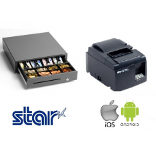 Star Ethernet printer & Cash Drawer Bundle