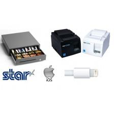 ipad/iphone Printer and cash drawer bundle