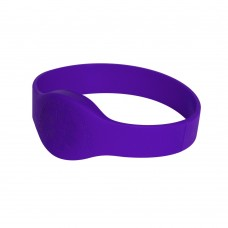 Purple Compatible 1k 13.56mhz NFC 13.56mhz Wristband