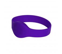 Purple Compatible 1k 13.56mhz NFC 13.56mhz Wristband