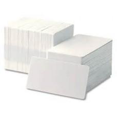 100 x CR80- Blank PVC Card