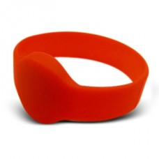 Red Wristband Compatible 1k 13.56mhz NFC