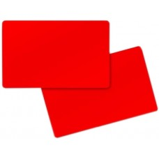 Red Pvc Card
