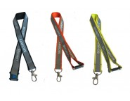 Reflective Security Lanyard with Safety Breakaway