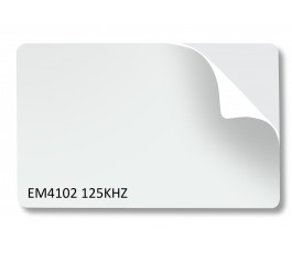 20 X EM102 125KHZ 1MM (1000 MICRON ) PEEL BACK STICK ON RFID CARDS